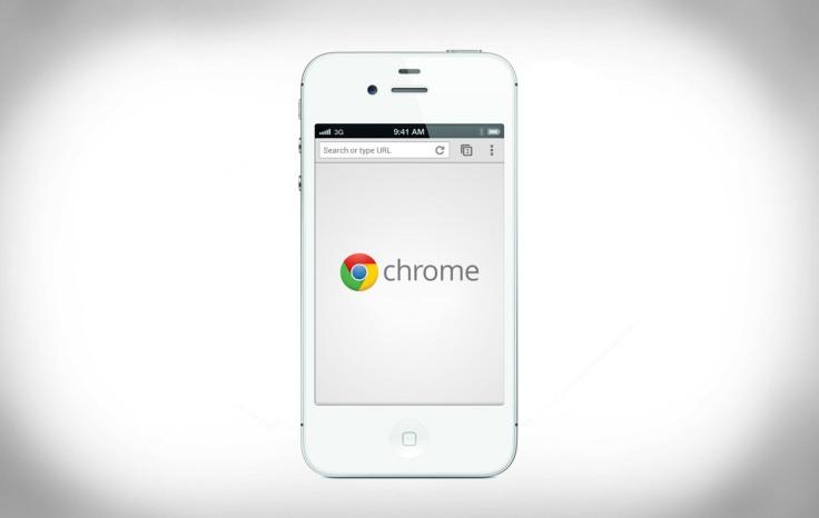 Chrome登陸iOS