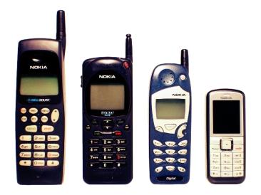 Nokia_evolucion_tamaño